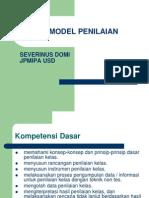 Model Model Penilaian