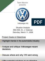 Volkswagen a g Situation Analysis Final 2