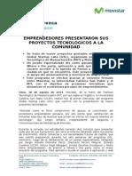 Movistar Global Startup Peru