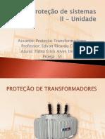 Trabalho Proteção de Tranformadores