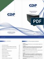 Manual de Usuario UPO11 Blue Line