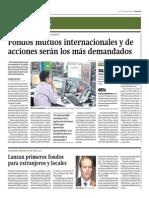 Fondos Mutuos Internacionales y Acciones Serán Más Demandados_Gestión 18-08-2014