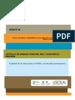 Calidad de La Educacion en Chile