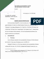 W.L. Gore & Associates, Inc. v. C.R. Bard, Inc. and Bard Peripheral Vascular, Inc., C.A. No. 11-515-LPS-CJB (D. Del. Aug. 8, 2014)
