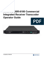 Motorola DSR-6100 Manual