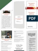 Election Brochure 2014