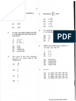 Unit 1 Pure Mathematics (2013) P1