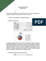 Informe de Condiciones de Salud y Del Trabajo