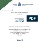 Railway Investigation Report