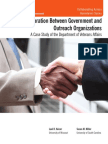 Collaboration Between Government and Outreach Organizations