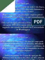 DOENÇAS CURADAS PELA ÁGUA.pps