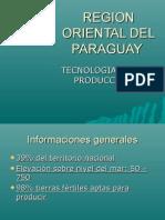 Region Oriental Paraguay