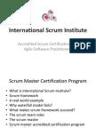 International Scrum Institute