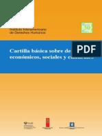 DESC - Cartilla Básica Sobre Derechos Económicos, Sociales y Culturales