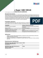 Mobil Delvac Super 1400 15w-40 (1)