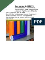 Manual Adesivo Digital