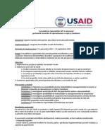 Fisa proiectului USAID