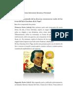Tarea Literatura Incaica y Virreinal