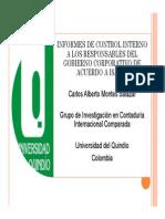 2.Ponencia Informes de Control Interno de Acuerdo a Isa 265