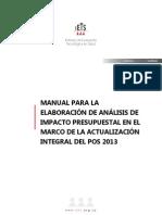 ...Manual de Análisis de Impacto Presupuestal - IETS