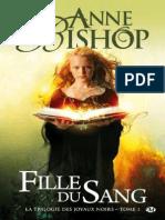 Anne Bishop - Fille Du Sang