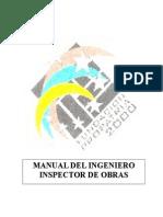 Manual Del Ingeniero Inspector de Obras