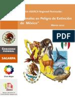 Especies en Peligro de Extincion en México