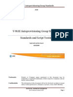 VMAX Autoprovisioning Group Standards