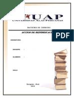 Monografia  reivindicacion -  Clauidia