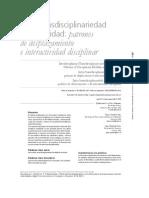 Figueroa 2014 Inter Transdisciplinaridad
