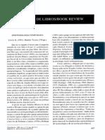 Ovejer-Reseña Epistemología Comparada