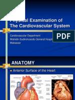 Physical Examination of CV