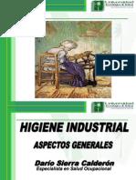 Higiene Industrial - Aspectos Generales, 11 y 12 de Diciembre Del 2009
