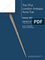 91 St London Antique Arms Fair Guide
