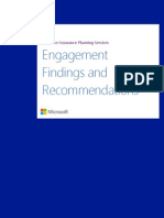 SDPS - SharePoint 2013 Engagement Findings and Recommendations Documentation