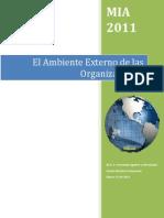 El Ambiente Externo de Las Organizaciones