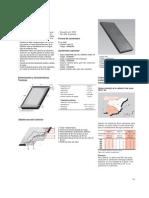 Catálogo Técnico Colector Solar ROCA PS (Plano + Accesorios) 2004