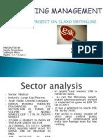 Galaxo Smith Kline ppt sector analysis