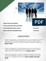 Talent Management presentation