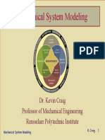 Modeling of Mechanical Systems