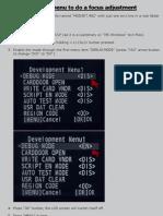 "Pentax Kx / Pentax K-x AF adjustment through undocumented ""debug mode"""