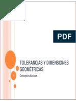 Tolerancias Geométricas I