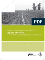 Aguas Servidas (Espanol) - FAO