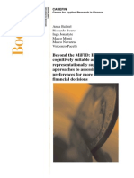 Research - Carefin Paper Beyond the Mifid - Monti Et Al.