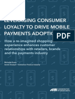 Leveraging Consumer Loyalty to Drive Mobile Payments Adoption
