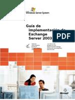 Exchange Server 2003 Deployment Guide_SPA_V3