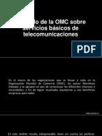Acuerdo de La OMC Sobre Servicios Básicos De