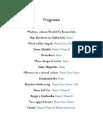 Programa y Descripción Ari Omar