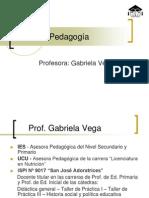 Clase 1 Pedagogia