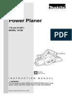 Power Planer 1912B